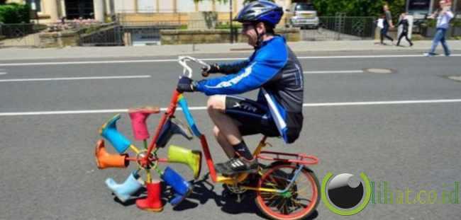 12 Sepeda dengan Desain yang paling tidak Lazim 3