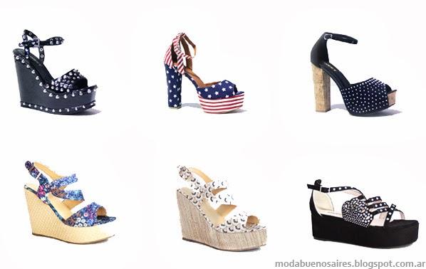 Zapatos y sandalias primavera verano 2014.
