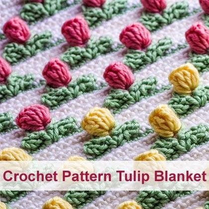 Crochet Pattern Tulip Blanket