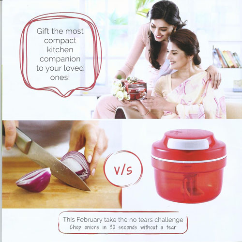 March  2018 Tupperware India Factsheet Catalog