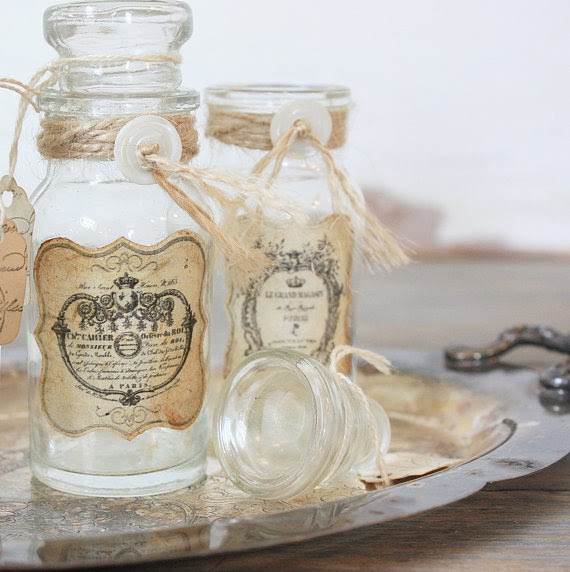 Kell Belle Studio: Rustic Vintage French Apothecary