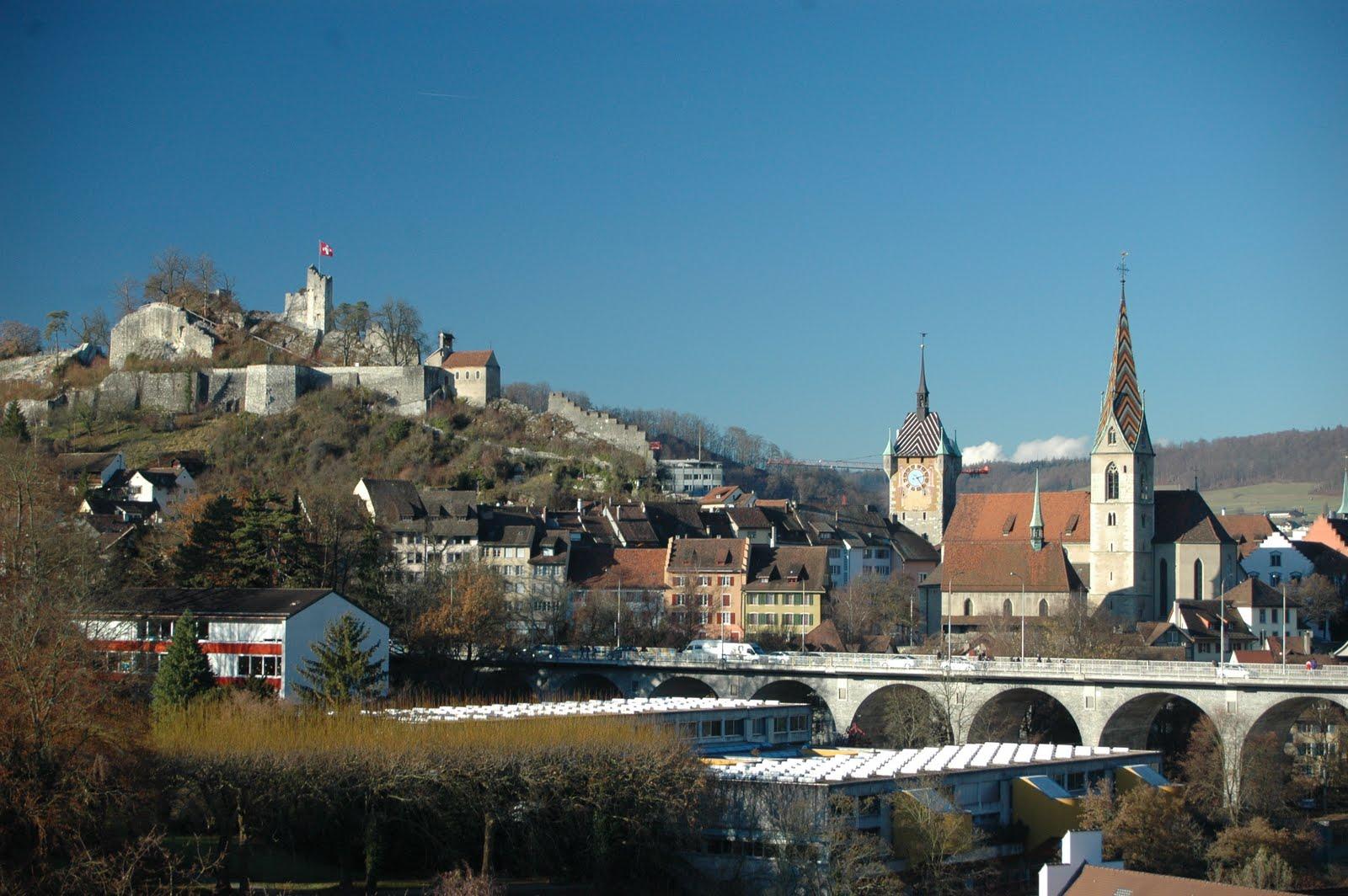 Baños Romanos Baden Baden:baden suiza la tranquila y señorial ciudad de baden baños es uno de