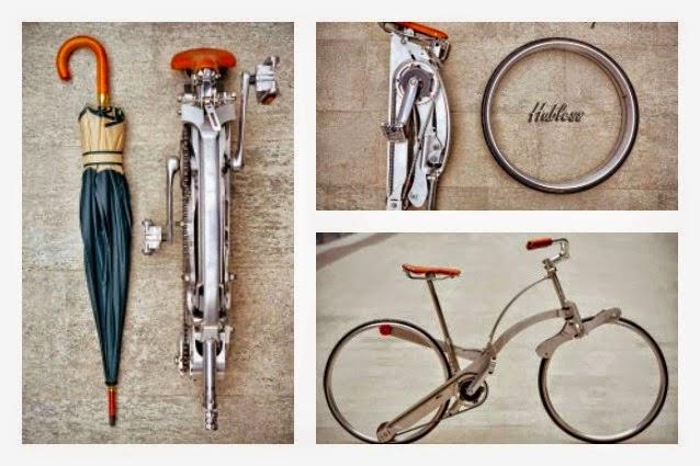 Sepeda Modern Ini Dapat Dilipat Hingga Seukuran PAYUNG   liataja.com