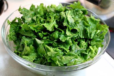 Broccoli rabe or rapini