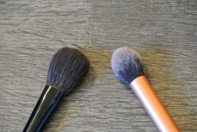 Sakura Cheek Brush & Real Techniques Contour Brush