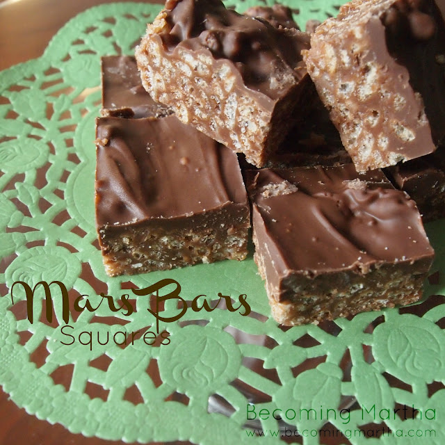 Mars Bars Copycat Recipe