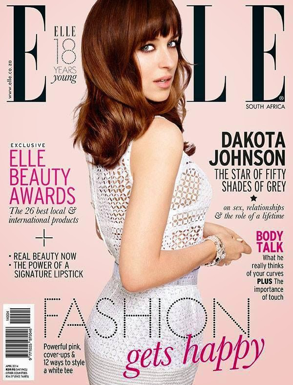 Dakota Johnson en Portada de ELLE Magazine (Sur Africa)- Abrill 2014