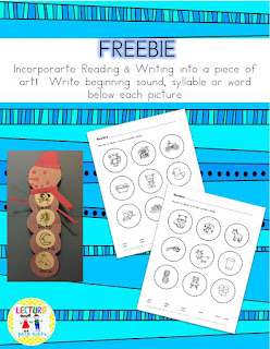 https://www.teacherspayteachers.com/Product/FREEBIE-Write-beginning-sound-syllable-or-word-below-each-picture-2279597
