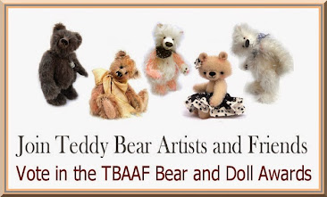 I am officially entered into the 2014 TBAAF Bear & Doll awards contest!