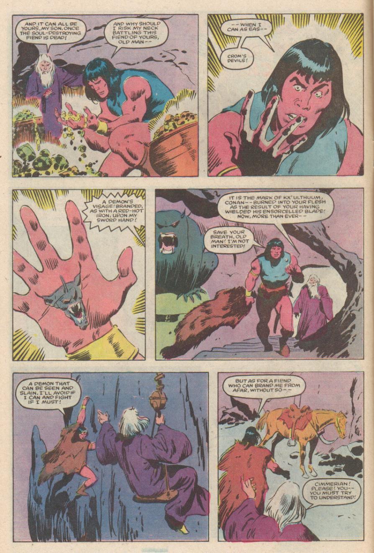 Conan the Barbarian (1970) Issue #170 #182 - English 5