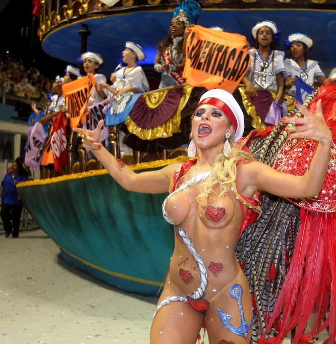 Ana Paula featured Minerato ground Hawks of the Faithful Raul Zito / G1. Posted on 19th Feburary /2012, 7:59 pm.