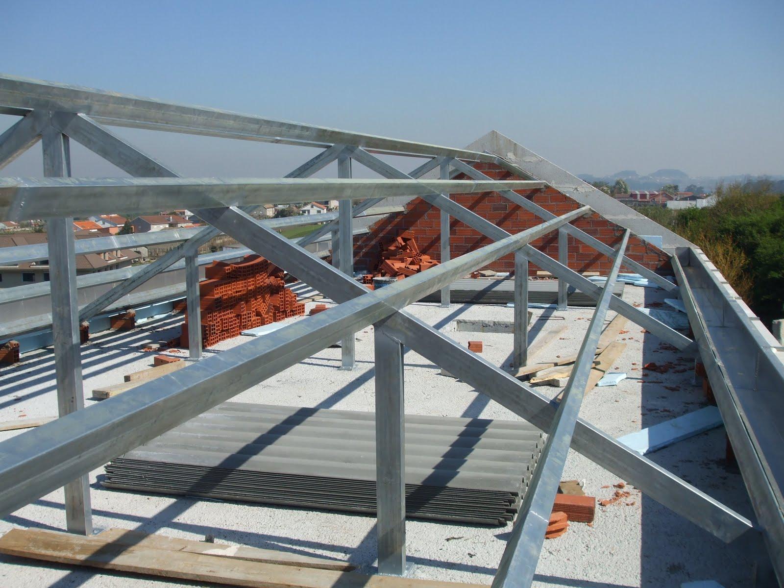 Promociones e inversiones k2 sl estructura del tejado for Cubiertas para techos livianas