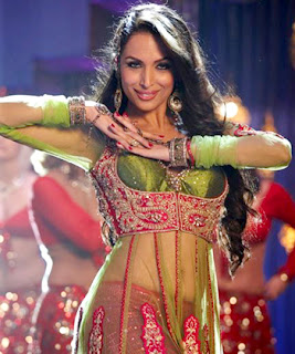 Malaika Arora in Anarkali Disco Chali Stills in a Transparent Anarkali Dress