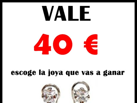El Rincón de Mis Alhajas sortea vale de 40 €