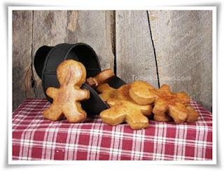 Primitive Gingerbread Dough Ornies