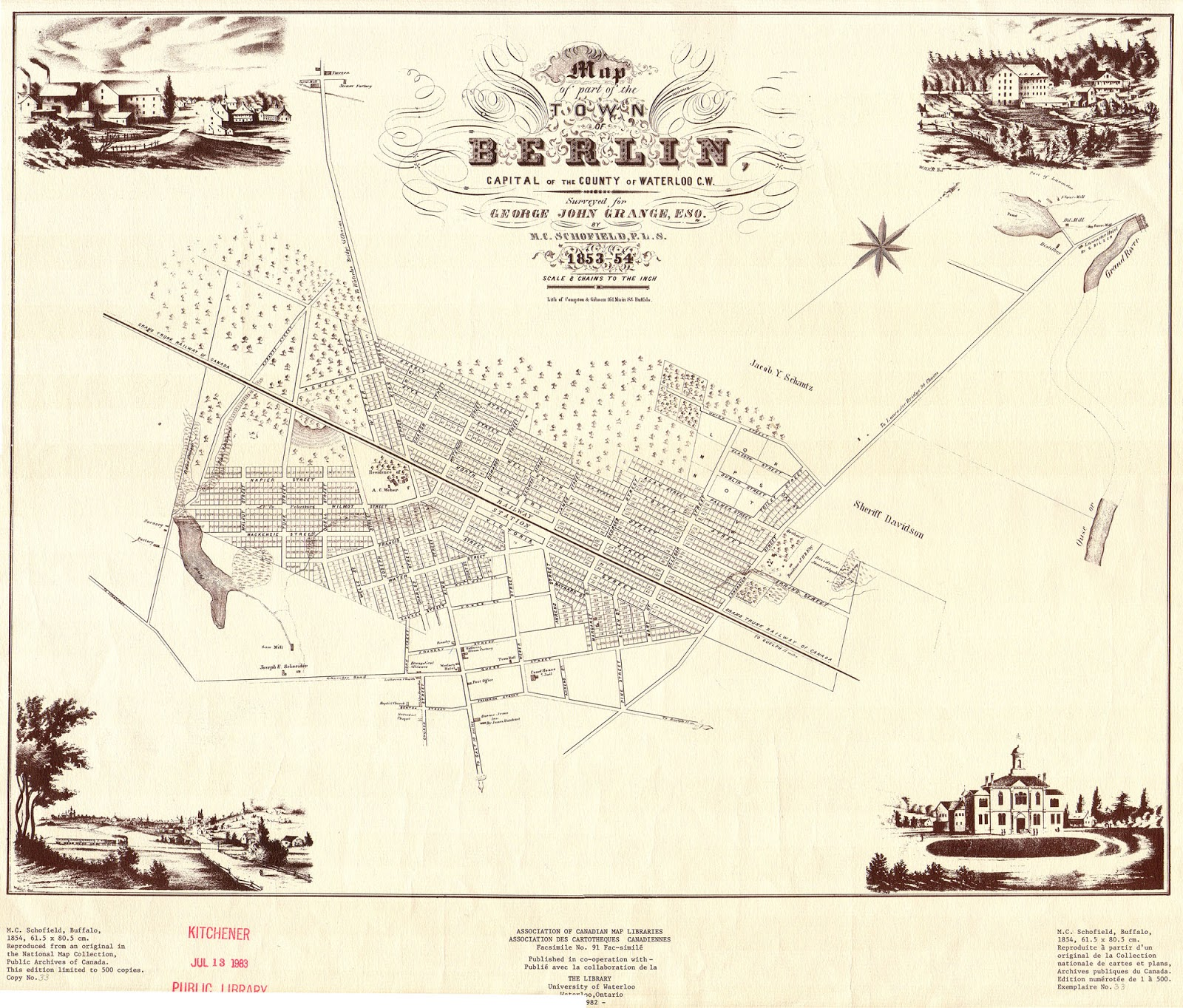 1820 Log Schoolhouse: A Short Lesson On Land Tenure (that involves ...