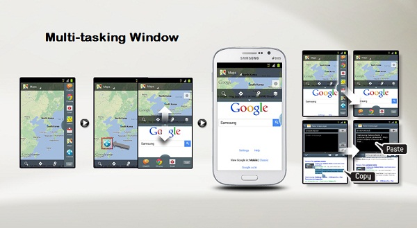 Samsung Galaxy Grand Duos - Multi Window