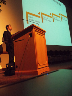 Josh Taylor spoke at the 2011 BYU Family History Conference