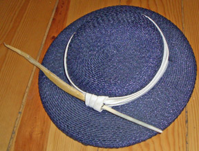 Made popular by the Oxford and Cambridge set these hats had their heyday in  menswear in the 1920s. I own this cute little navy straw one 2a0fb419b520
