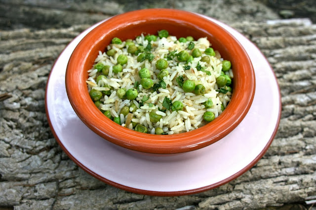 Indian Rice: Peas & Onions: Simple Living and Eating
