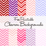 printable chevron