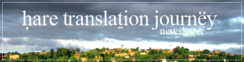 Hare Translation Newsletter