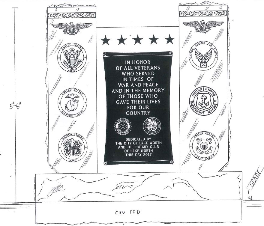 Board approves Military Memorial Monument.