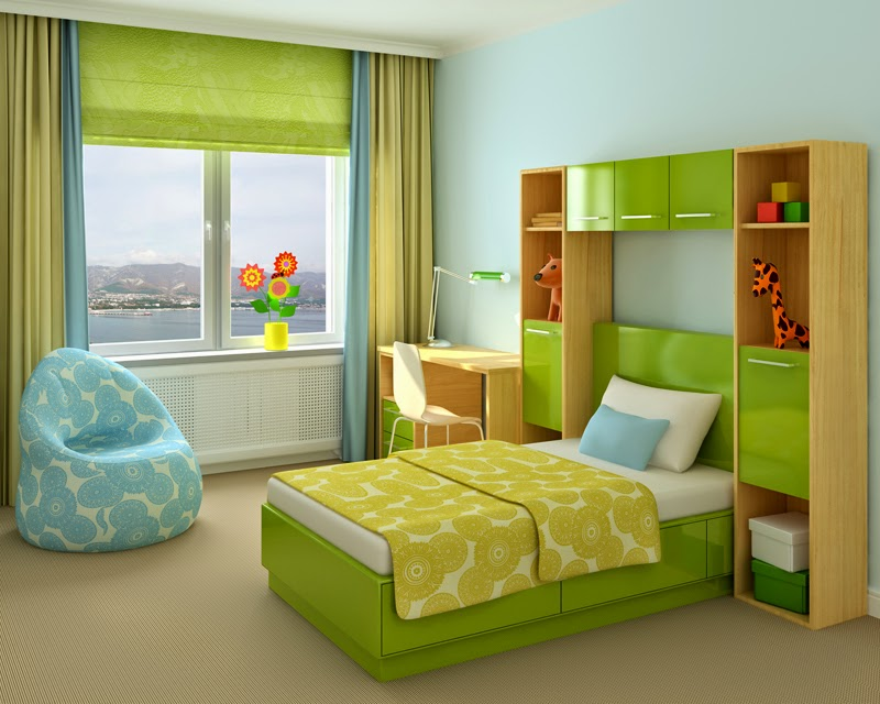 Minimalist Little Boys Bedroom Decorating Ideas