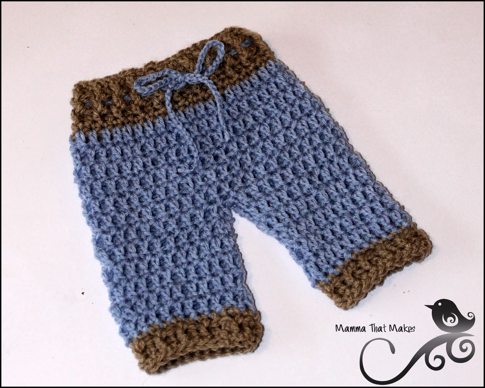 Mamma That Makes Lil Pants Free Pattern