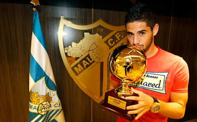 Isco, ganador del «Golden Boy 2012»