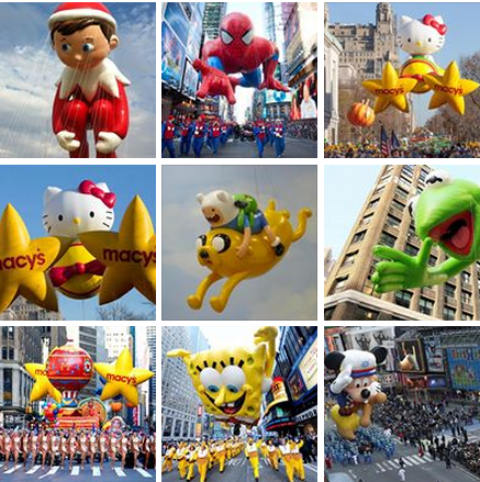 Macy's Thanksgiving Day Parade Photos