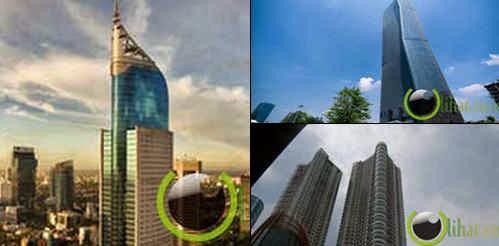 10 Gedung yang paling Tertinggi di Indonesia