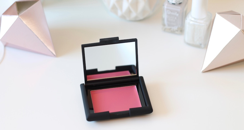 raspberry creme to powder blusher