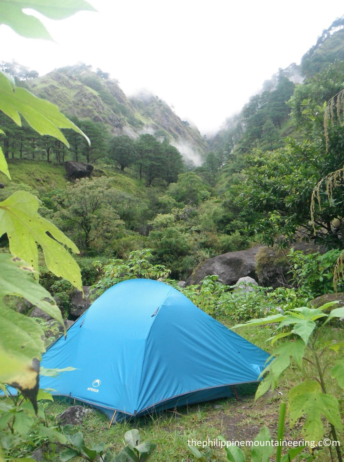 Upon reaching the Edet River c&site we immediately enc& using the Apexus tent Halcon model. While cooking the dinner our guide Sergio left us and ... & The Philippine Mountaineering