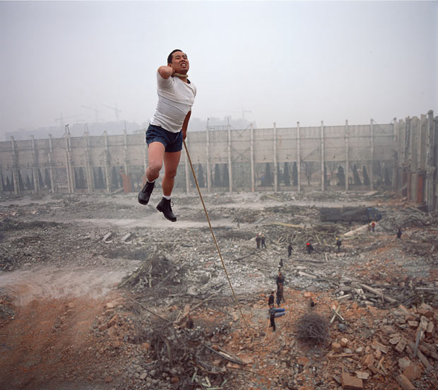 Suspended disbelief: the amazing art of Li Wei