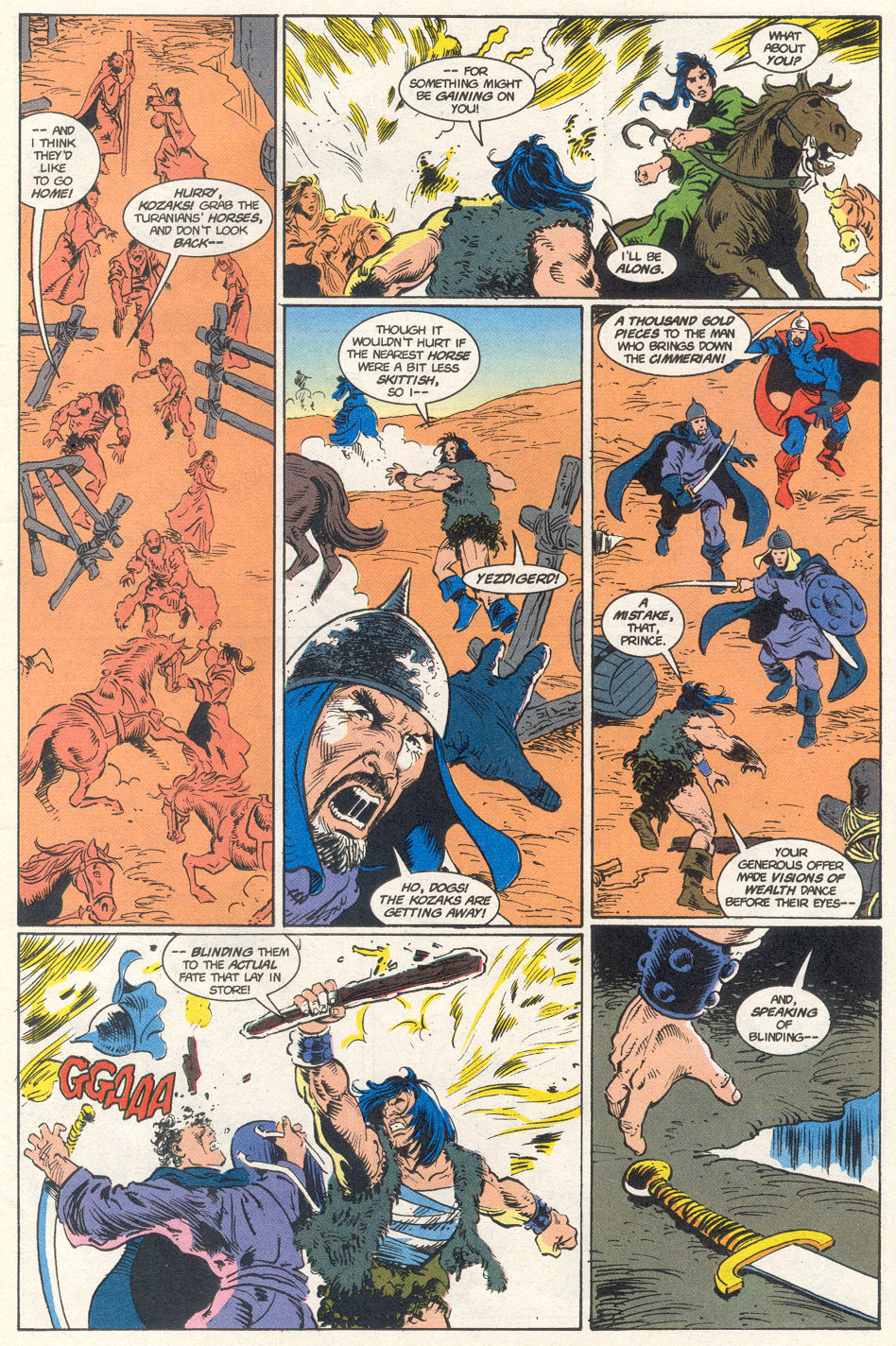 Conan the Barbarian (1970) Issue #275 #287 - English 46