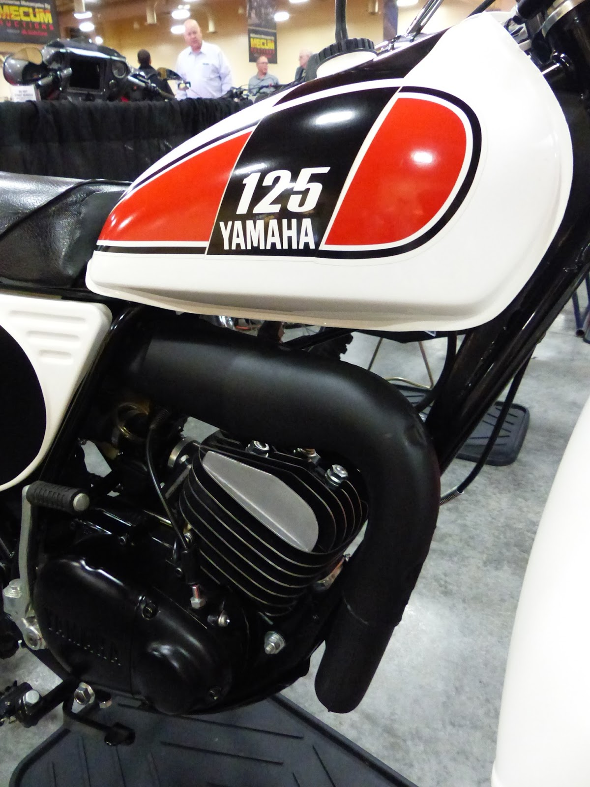 1975 yamaha mx125 sold for 5 000 at the 2016 mecum las vegas motorcycle auction
