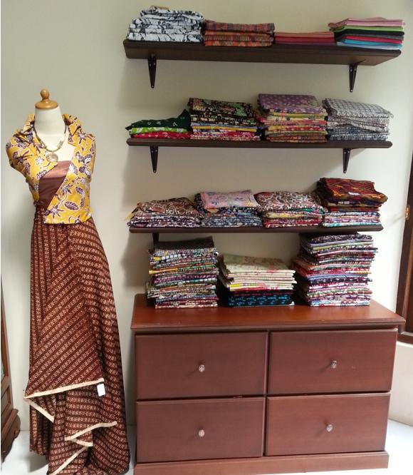 Toko batik di Magelang