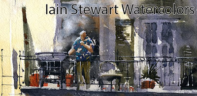 Iain Stewart Watercolors
