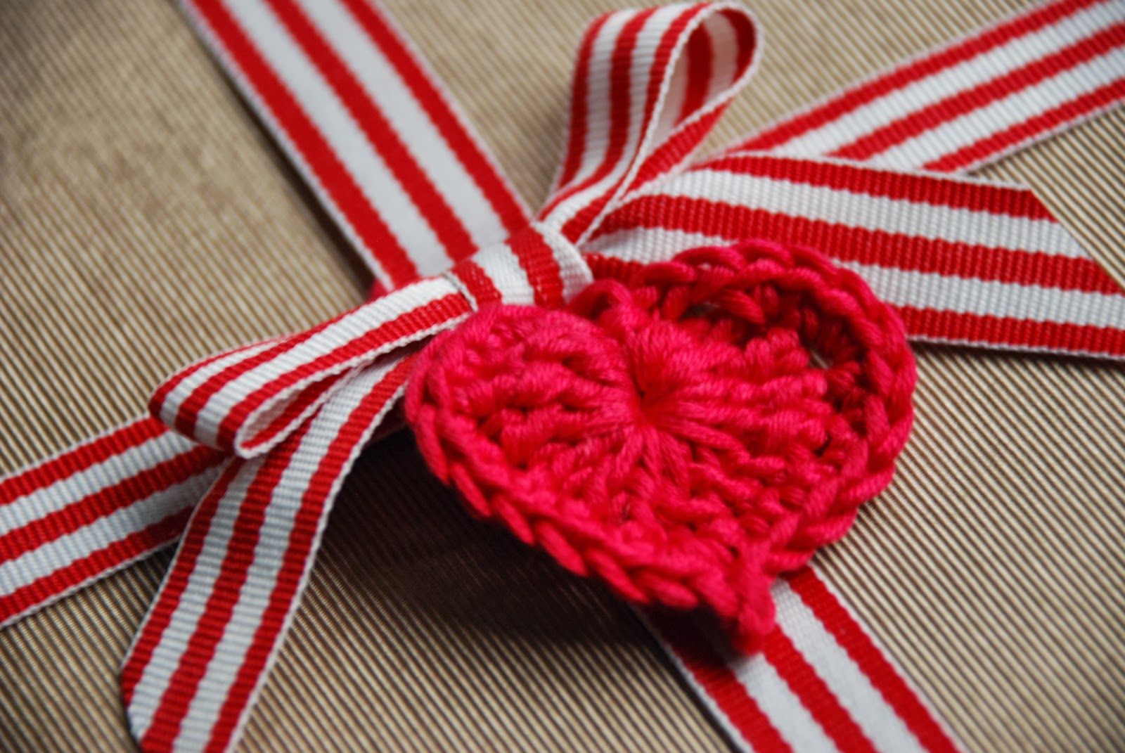 image of a crochet heart