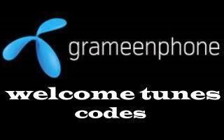 Grameenphone Welcome Tune Song Code