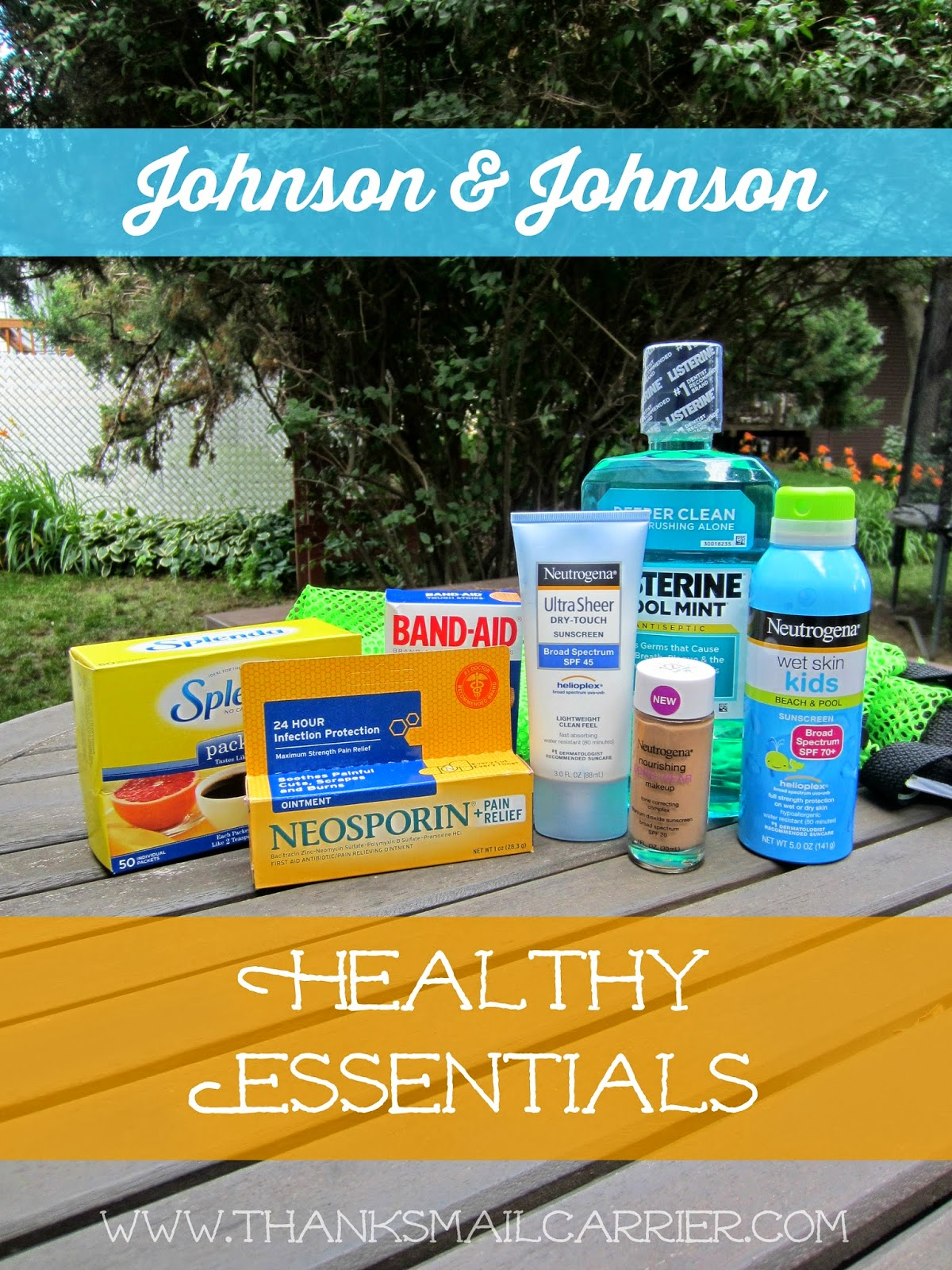 Johnson & Johnson Healthy Essentials