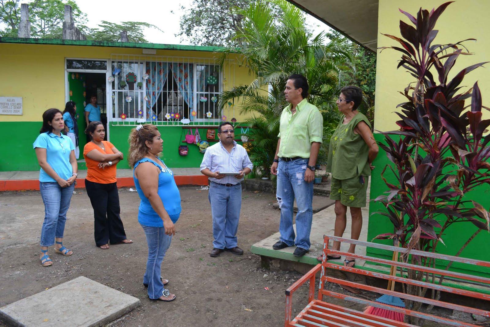 En los tuxtlas dignificar espacios educativos prioridad for Jardin 4 maldonado