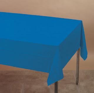 Blå engangsdug af god kvalitet