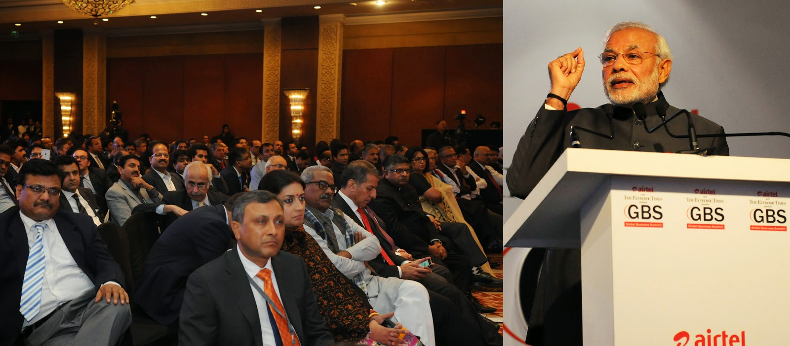 information news features and essays narendra modi s prime narendra modi addressing et global business meet on 16 2015