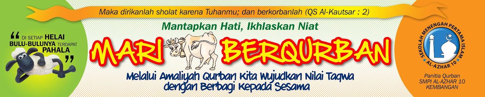 Contoh Spanduk Iedul Qurban