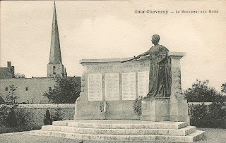 Monuments aux morts - Cour-Cheverny