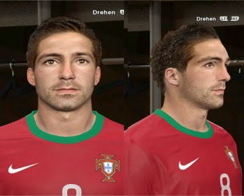PES 2014 Moutinho Face by rednik