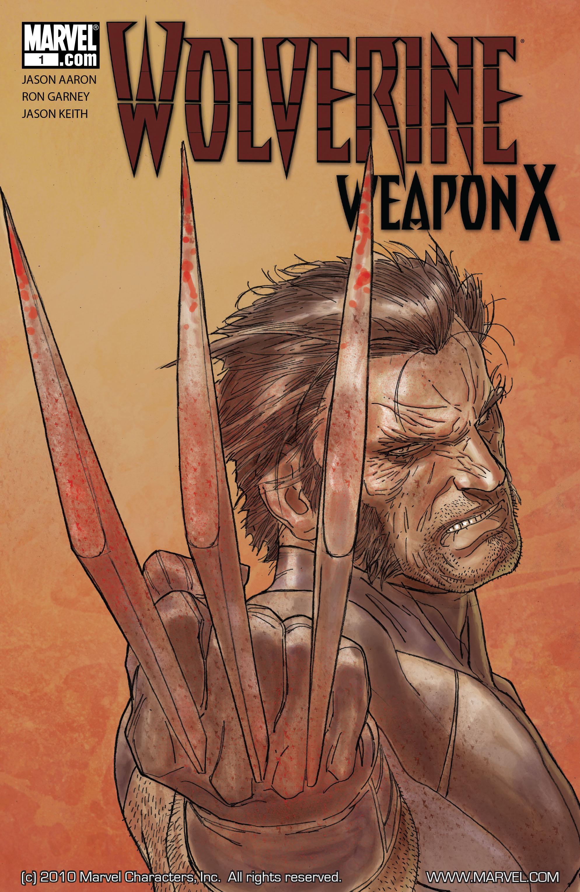 Wolverine: Weapon X #1 #16 - English 1
