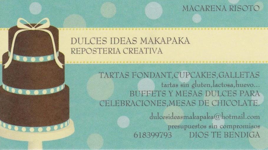 DULCES IDEAS MAKAPAKA